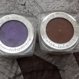 L'Oreal Color Infaillible Eyeshadow Singles
